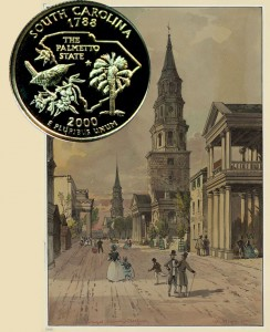 South Carolina State Quarter Coin