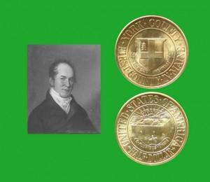 York County Commemorative Silver Half Dollar Coin