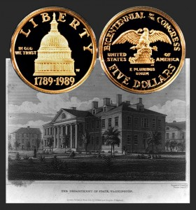 Congress Commemorative Gold $5 Coin