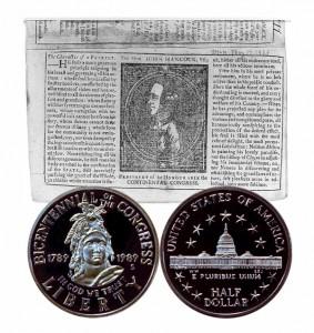 Congress Commemorative Half Dollar Coin