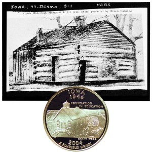 Iowa State Quarter Coin