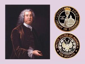 Library of Congress Bi-Metallic Ten-Dollar Coin