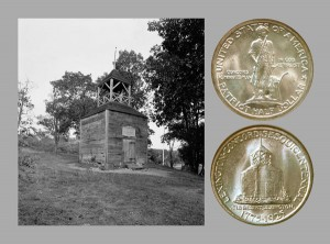 Lexington-Concord Commemorative Silver Half Dollar Coin