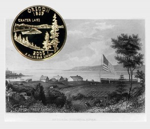 Oregon State Quarter Coin
