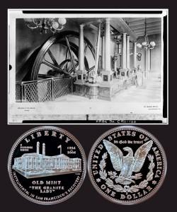 San Francisco Old Mint Commemorative Silver Dollar Coin