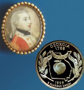 Georgia State Quarter Coin