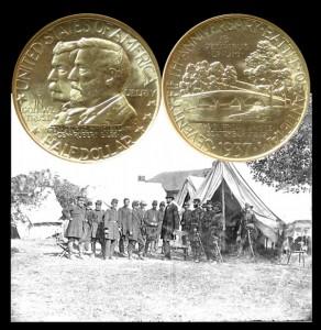 Battle of Antietam Commemorative Silver Half Dollar Coin