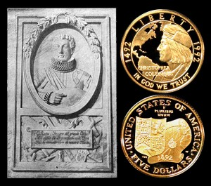 Columbus Gold Five-Dollar Coin