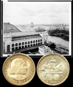 World's Columbian Exposition Silver Half Dollar Coin