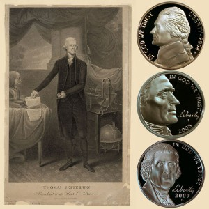 Jefferson Five-Cent Coins