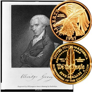 Constitution Commemorative Gold Five-Dollar Coin