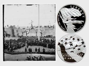 Star Spangled Banner Commemorative Silver Dollar Coin