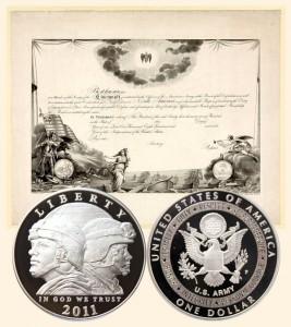 Army Commemorative Silver Dollar Coin