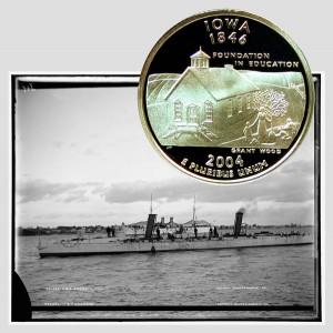 Iowa State Quarter Coin
