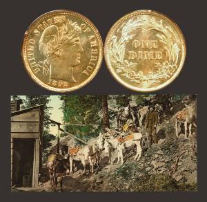 Barber Ten-Cent Coin