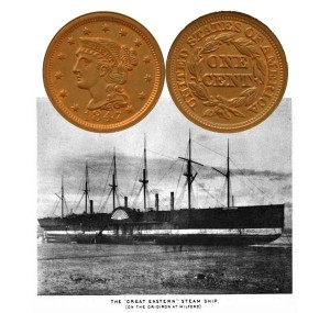 Large Cent Coin