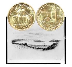 California Pacific Commemorative Silver Half Dollar Coin