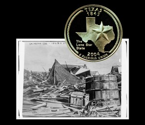 Texas State Quarter Coin