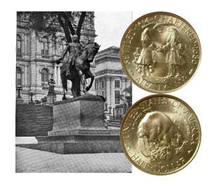 Albany NY Commemorative Silver Half Dollar Coin