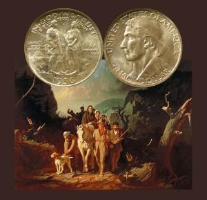 Boone Commemorative Silver Half Dollar Coin