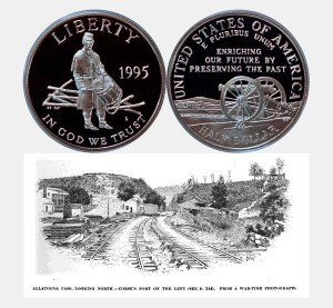 Civil War Commemorative Half Dollar Coin
