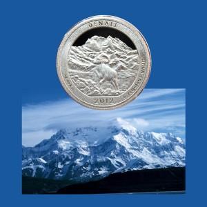 Denali National Park Quarter Coin