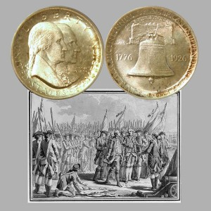 Sesquicentennial of American Independence Commemorative Silver Half Dollar Coin