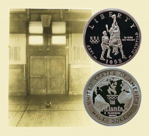 Basketball Commemorative Half Dollar Coin