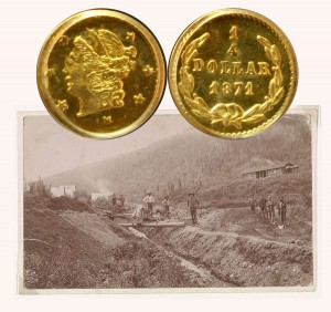 California Fractional Gold Coin