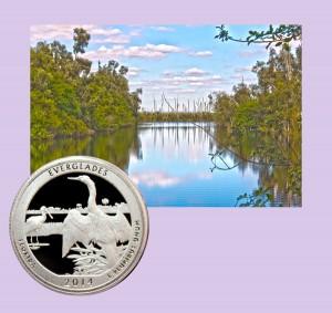 Everglades National Park Quarter Coin