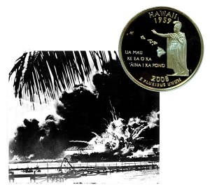 Hawaii State Quarter Coin