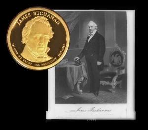 James Buchanan Presidential Dollar Coin