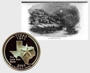 Texas State Quarter Coin