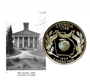 Georgia State Quarter Coin