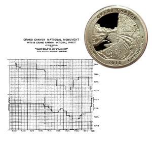 Grand Canyon America the Beautiful Quarter Coin