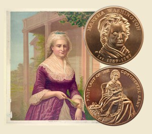 Martha Washington First Spouse Medal