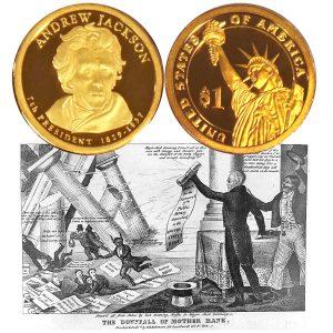 Jackson Presidential $1 Coin