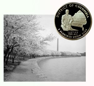 Washington DC Quarter Coin