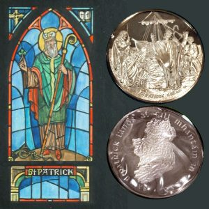 Irish St. Patrick's Day Commemorative Silver Medal
