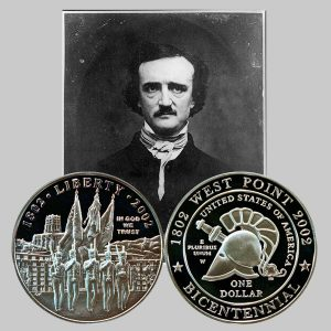 West Point Bicentennial Commemorative Silver Dollar Coin
