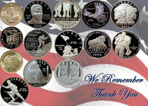Coins and Memorial Day 2017