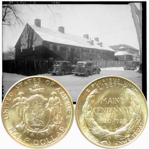 Maine Commemorative Silver Half Dollar Coin