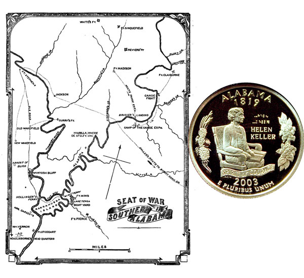 Alabama State Quarter Coin