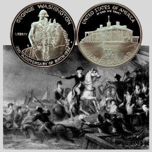 Washington Commemorative Silver Half Dollar Coin