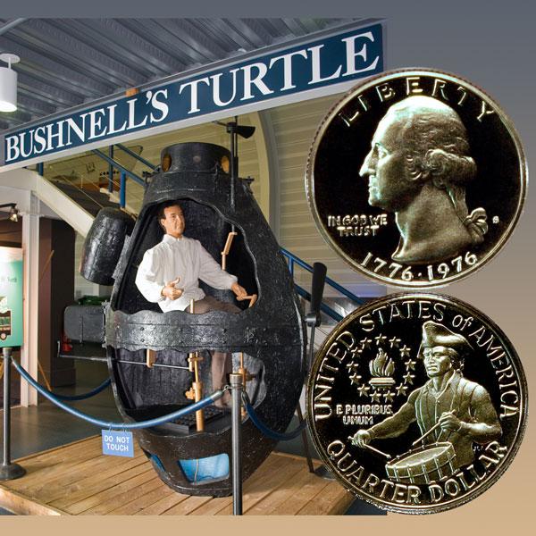 Bicentennial Quarter Coin