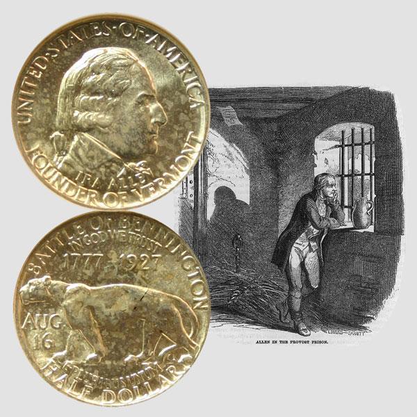 Vermont Sesquicentennial Commemorative Silver Half Dollar Coin