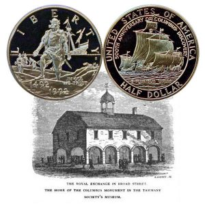 Columbus Commemorative Half Dollar Coin
