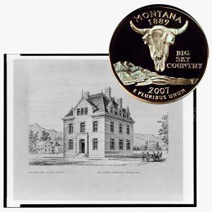 Montana State Quarter Coin