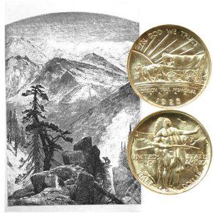 Oregon Trail Commemorative Silver Half Dollar Coin