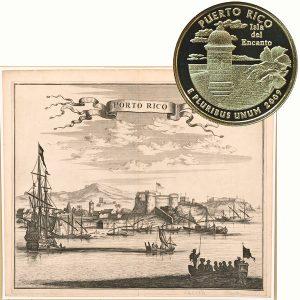 Puerto Rico Territory Quarter Coin